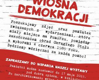 Wiosna Demokracji - stwórzmy wspólnie wystawę