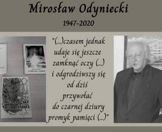 Zamarł Mirosław Odyniecki