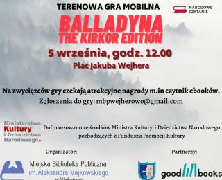 Balladyna the Kirkor edition